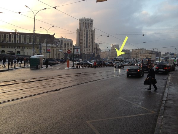 Около Павелецкого вокзала