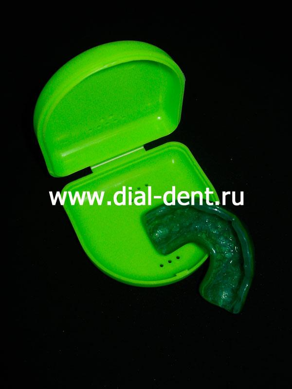 индивидуальные капы для отбеливания зубов